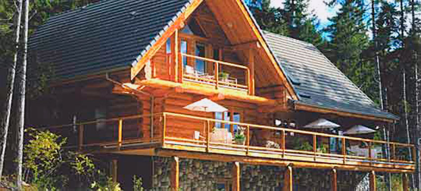 Casa costruita in bioedilizia
